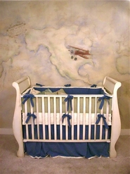 Baby Room Mural by artist David Freeman
